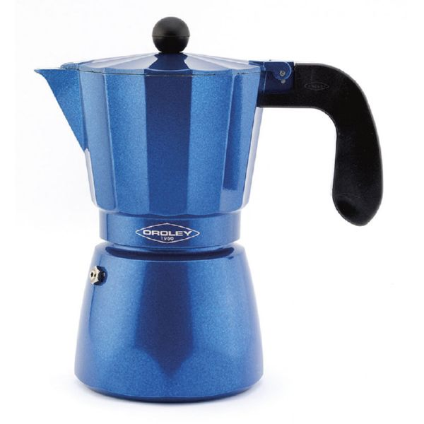 CAFETERA ALUM. BLUE INDUCTION 6 TAZAS