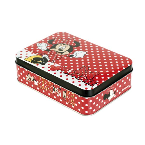 CAJA METAL. DISNEY MINNIE 20X13XH7