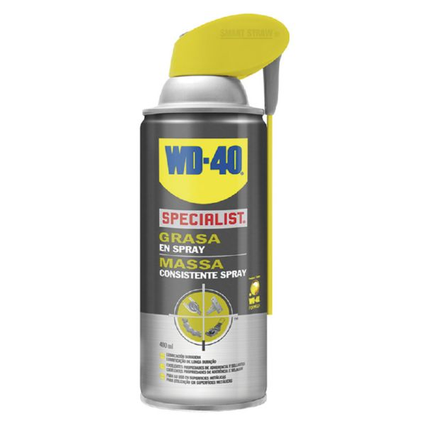 GRASA SPRAY.DOBLE ACCIÓN.WD-40.400ML